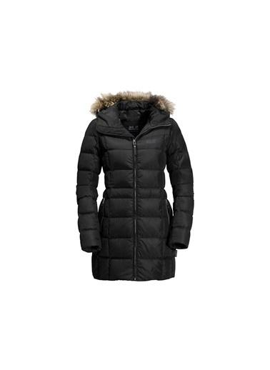 Jack Wolfskin Jack Wolfskın Baffin Island Coat Kadın Mont Siyah Siyah